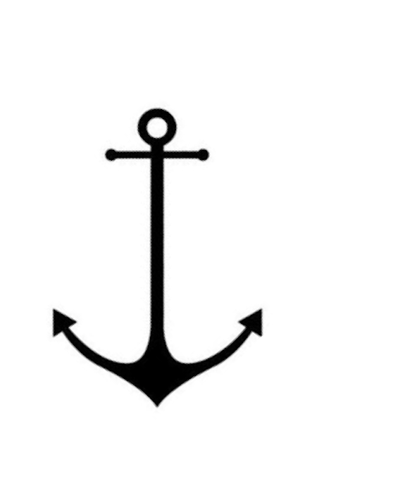 Small Anchor Tattoo Designs Simple: Giveaway & DIY Nautical Frame Using Glass Paint Pens