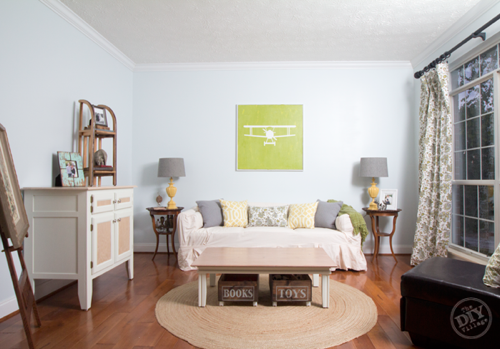 Living-Room-Paint-Makeover