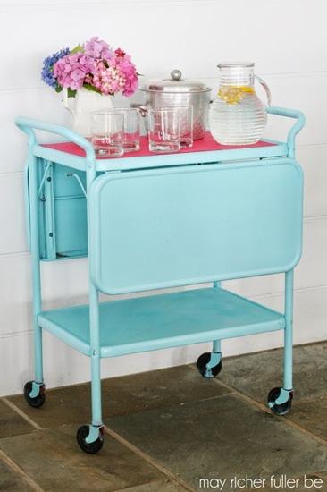 Vintage-Kitchen-Cart-Makeover-1