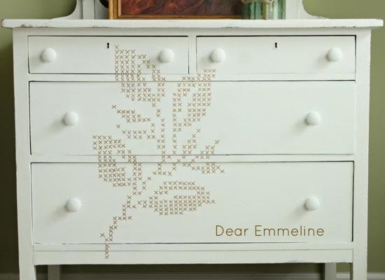 Cross Stitch Dresser