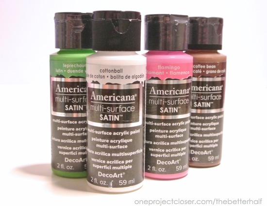 Americana Multi-surface Satin paints