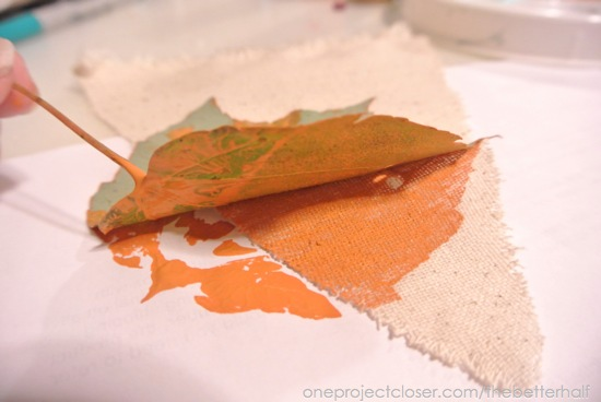 Pressed Leaves - One Project Closer