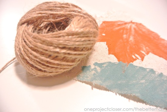 Twine and Bunting - One Project Closer