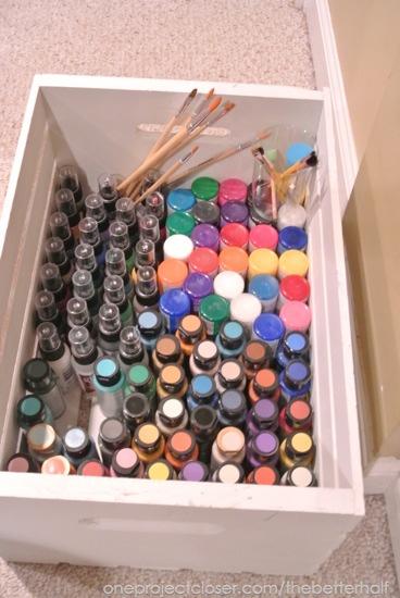 Deco Art paint! - One Project Closer