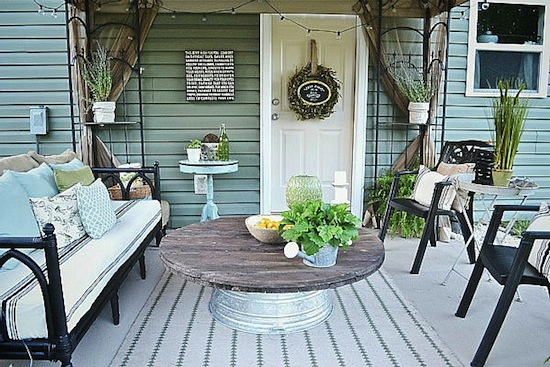 Patio Door Makeover