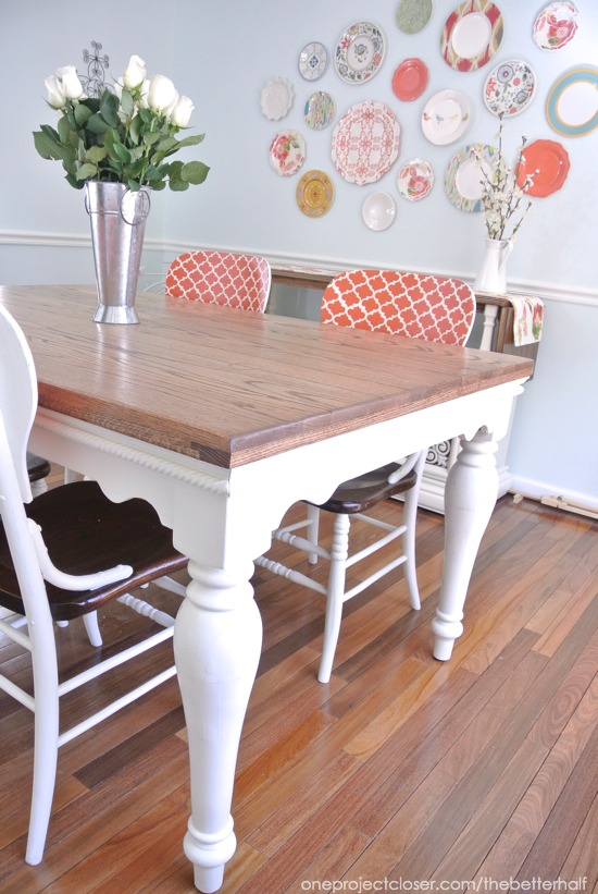 Annie Sloan Dining Room Table