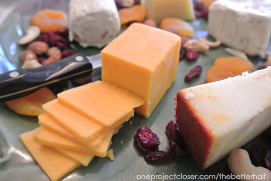 Cheese Platter - One Project Closer