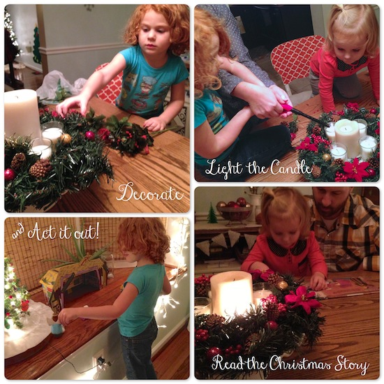Advent Wreath Process from One Project Closer