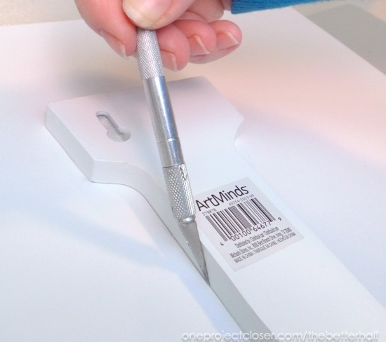 cutting letters