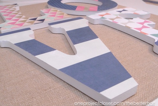LOVE canvas - One Project Closer