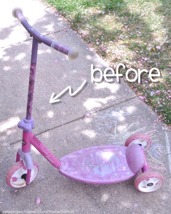 before-spray-paint-scooter-makeover