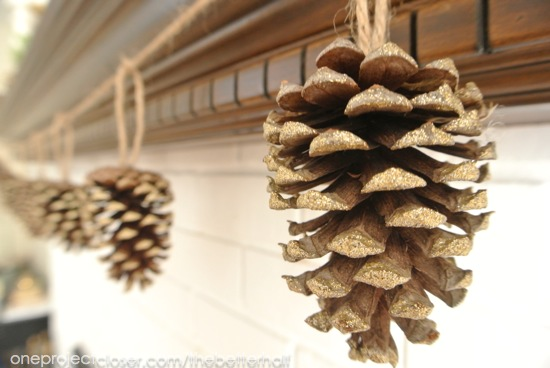 pine-cone-banner-Thanksgiving-Mantel-one-project-closer