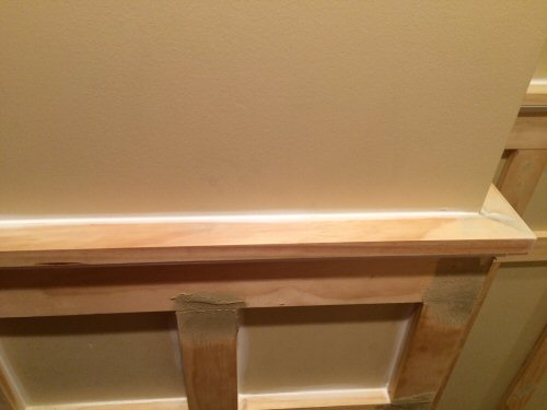 Board and Batten Top rail caulk