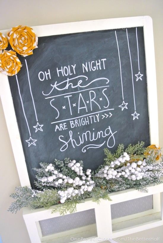 holiday-home-tour-2014-Ikea-hack-chalkboard