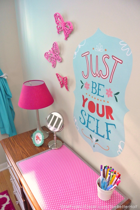 childrens-desk-makeover-diy-be-yourself-fabric-wall-print-wallternatives