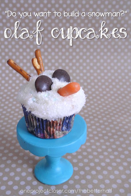 olaf-cupcakes-for-a-simple-Frozen-birthday-party
