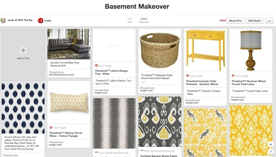 pinterest-board-Basement Makeover-One-project-closer