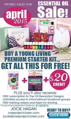 Young Living Premium Starter Kit Promo