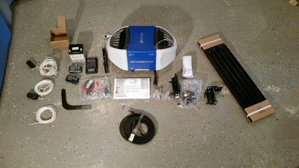 MyQ Garage Door Opener Parts