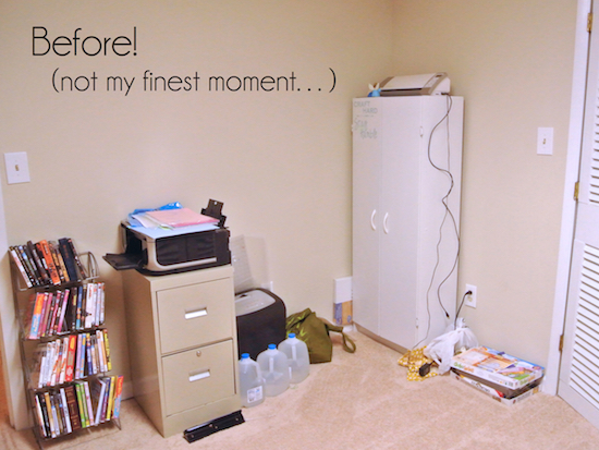 Before Craft Room