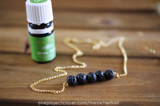What Does A Diffuser Do >> Diy Essential Oil Diffuser Necklace - One Project Closer