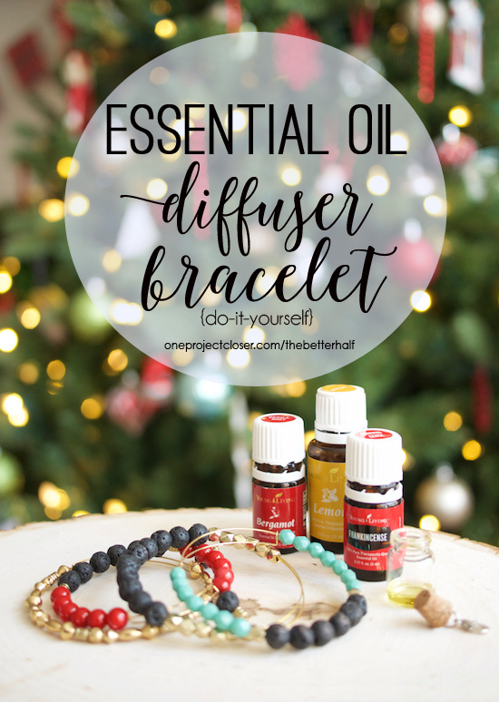 Handmade Holiday Diy Essential Oil Diffuser Bracelet