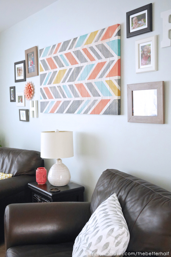 Living Room Decor Ideas from One Project Closer