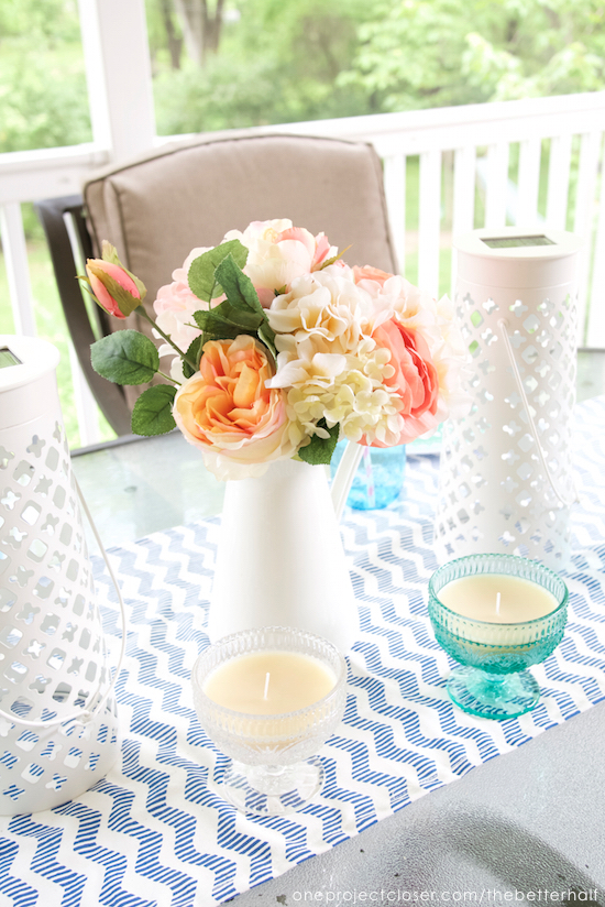 diy citronella candles from One Project Closer