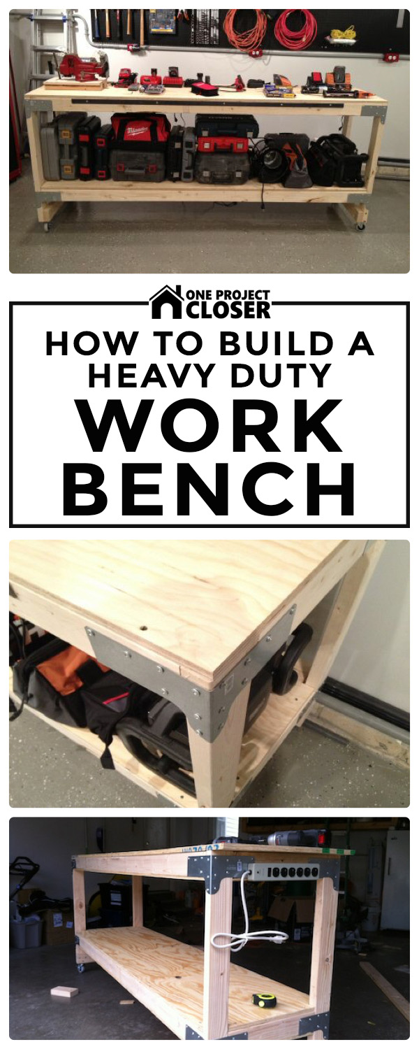 Marvelous How To Build A Heavy Duty Workbench One Project Closer Lamtechconsult Wood Chair Design Ideas Lamtechconsultcom