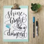Free Hand Lettered Printable from One Project Closer