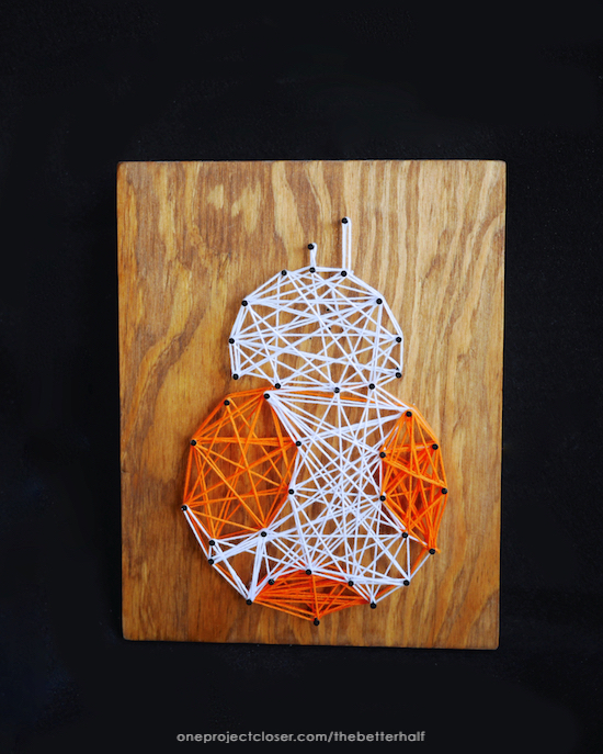 Star Wars String Art from One Project Closer
