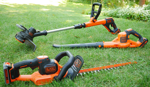 Black Amp Decker Lawn And Garden Tools One Project Closer