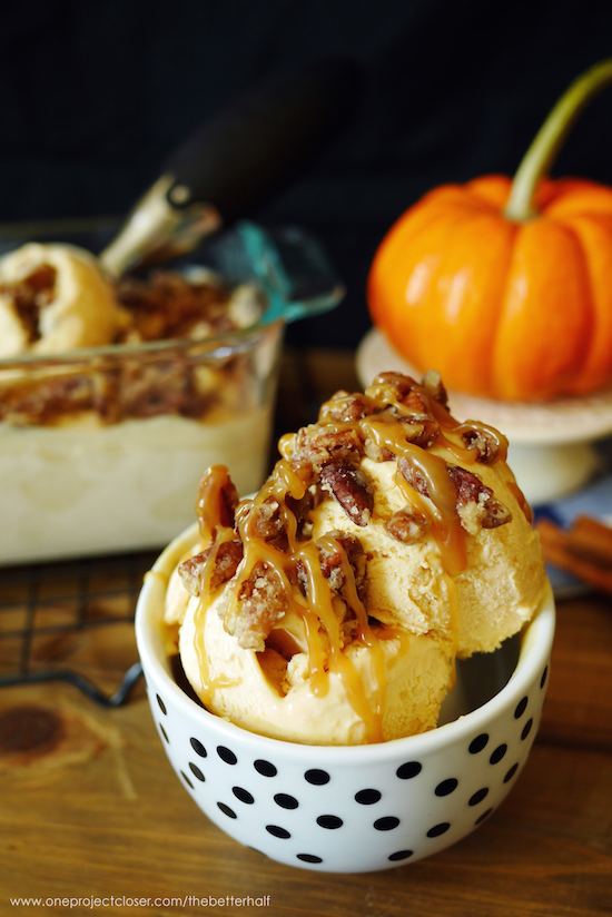 No-Churn-Pumpkin-Pie-Ice-Cream-with-Candied-Pecans-from-One-Project-Closer