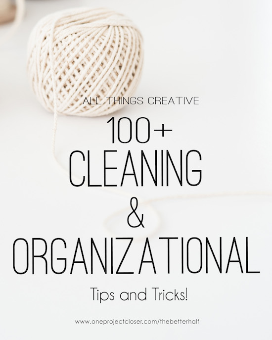 Organizational Tips and Tricks