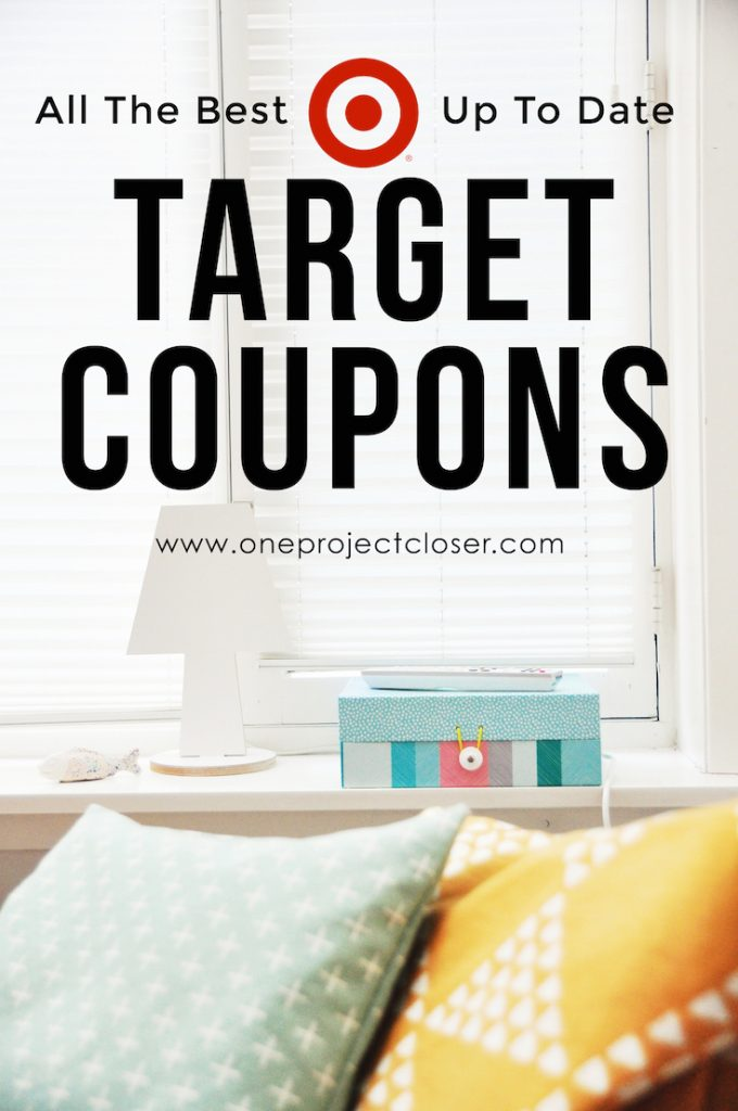target coupons sales coupon codes 10 60 off october 2018 one project closer