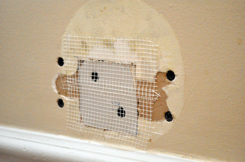 How To Repair A Medium Size Hole In Drywall One Project
