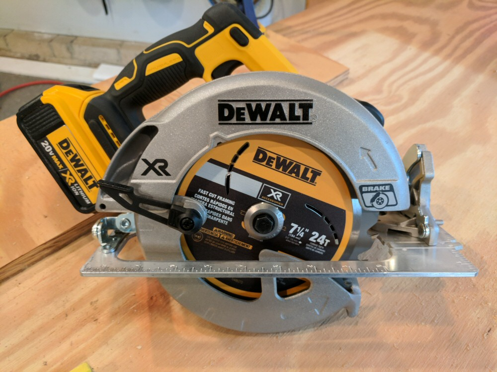 Dewalt 20v li ion brushless 7 14 circular saw w brake review in dewalts li ion xr brushless tools lineup well take a look at a few features of this tool and then let you know how it performed in our shop keyboard keysfo Image collections