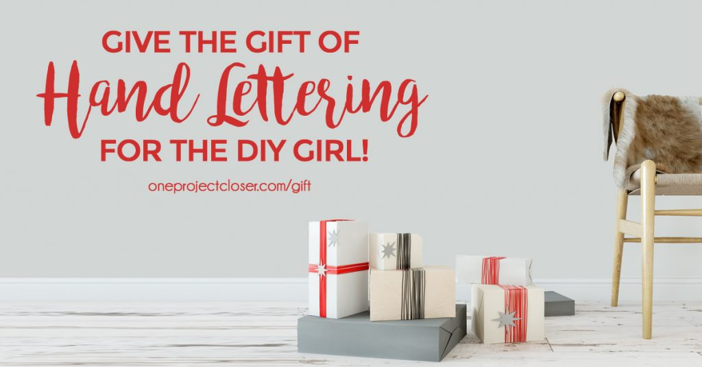 Online Hand Lettering Course For The Diy Girl One Project Closer