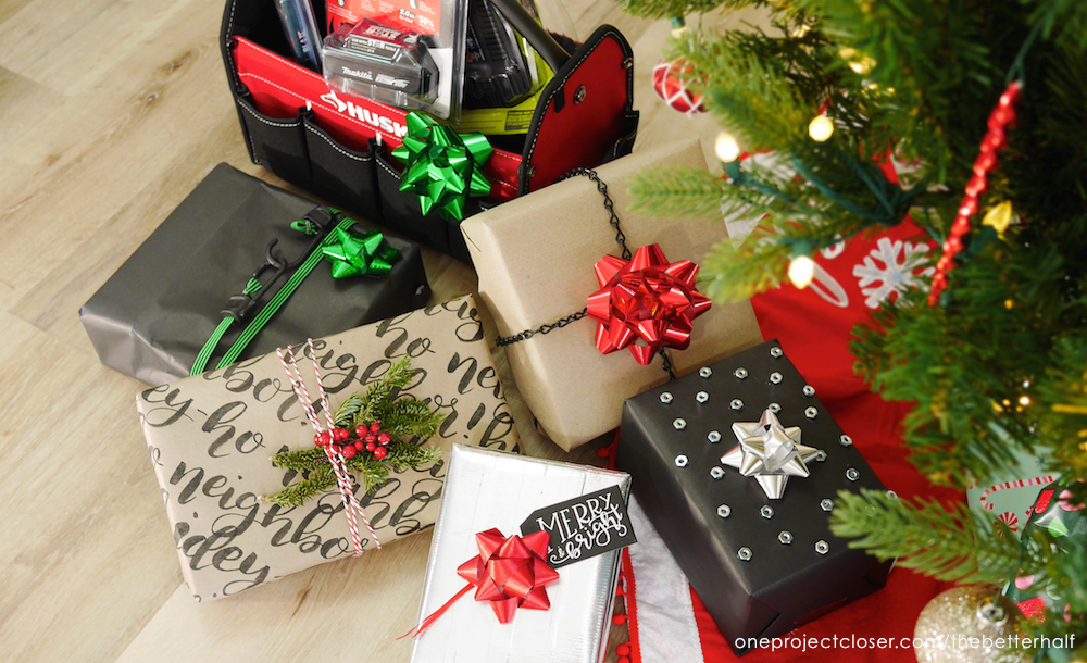 Creative Gift Wrapping Ideas for Tool Lovers - One Project Closer