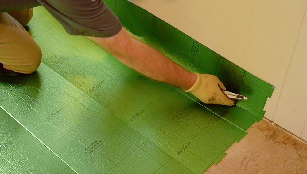 How To Install Floating Vinyl Flooring One Project Closer