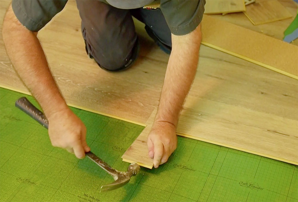 How To Install Floating Vinyl Flooring One Project Closer - How long does vinyl flooring last