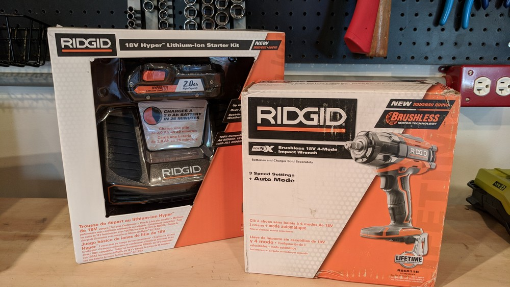 With The Home Depot We Re Taking A Look At Tool Ve Been Waiting To Review For Some Time Ridgid S New Gen5x 18v Cordless Brushless Impact Wrench