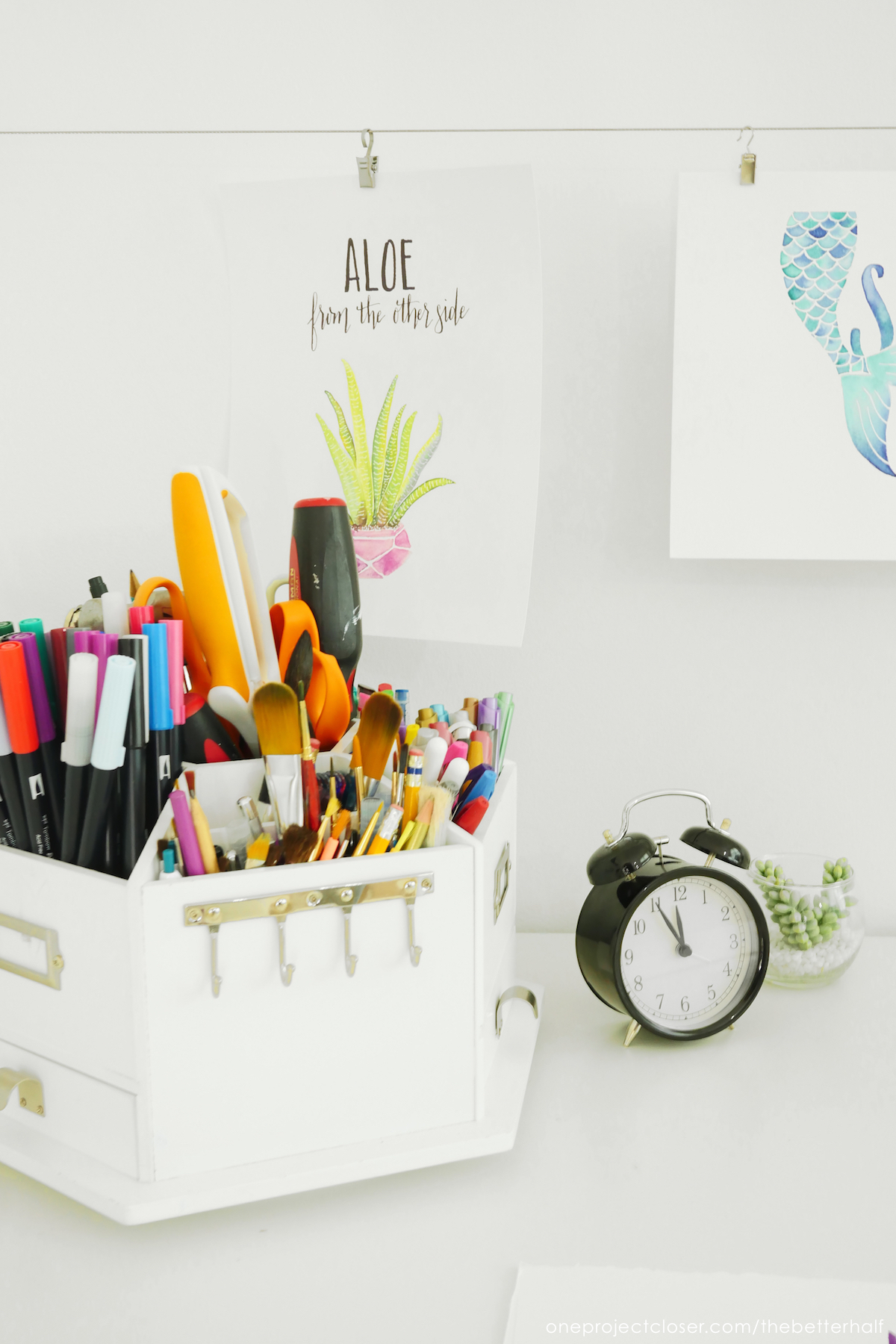 Behind The Scenes Inexpensive Craft Room Ideas One