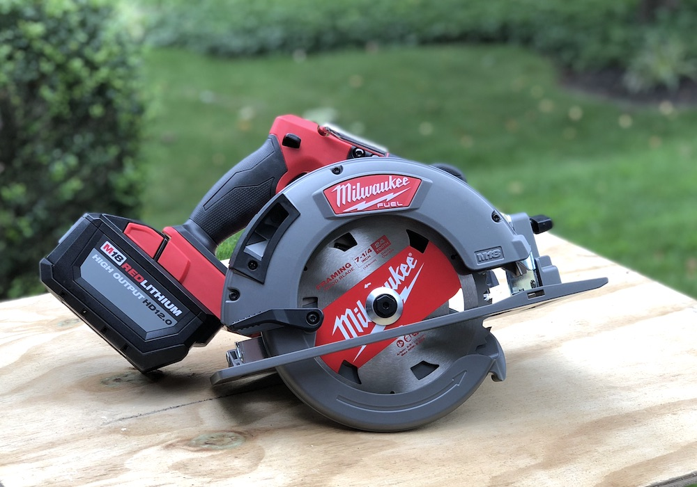 The New M18 Fuel 7 1 4 Quot Circular Saw Kit One Project Closer