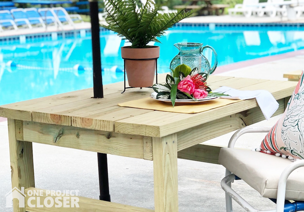 How To Build A Diy Outdoor Table From