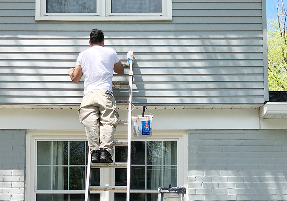 How To Paint A House Exterior One Project Closer