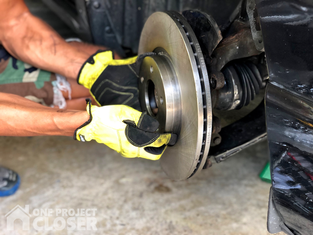 How To Replace Brake Rotors On A Car