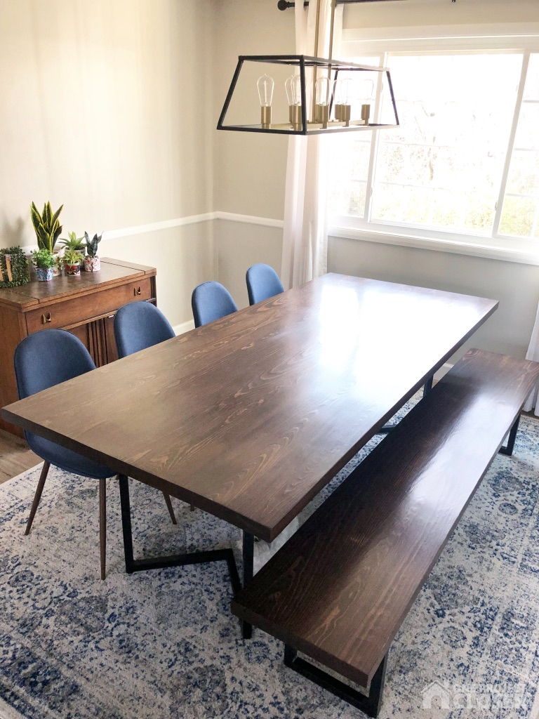 Diy Modern Dining Table Plans Tutorial