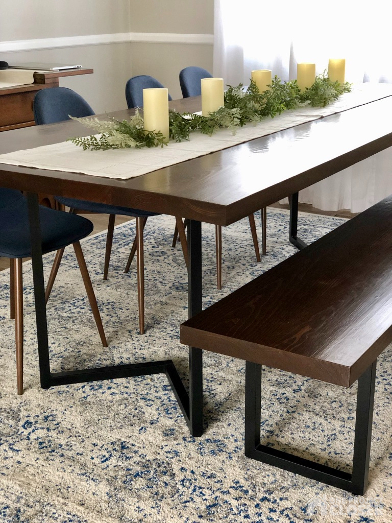 Diy Modern Dining Table Plans Tutorial